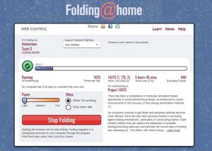 Folding at home image